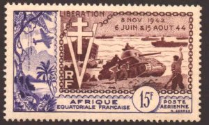 French Equatorial Africa Scott C38 UN NH