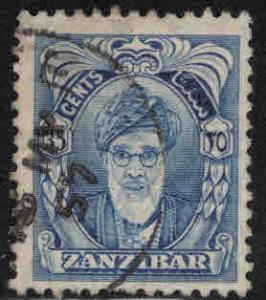 Zanzibar Scott 236 Used 1952 stamp