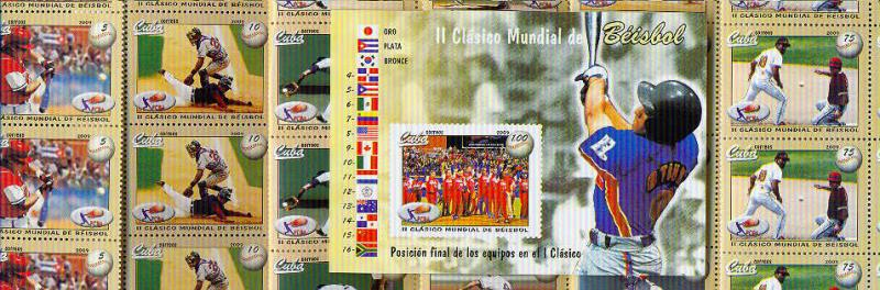T)2009,CUBA,SET(6),II CLASSIC WORLD BASEBALL,WITH S/SHEET,MN