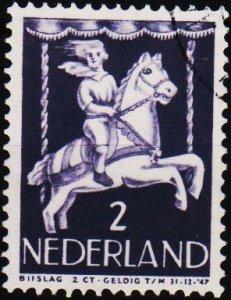 Netherlands. 1946 2c+2c. S.G.631 Fine Used