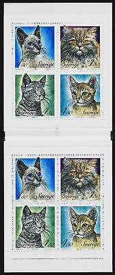 Sweden 2064a Booklet MNH Cats