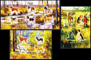 Malawi Dogs 3 Sheetlets