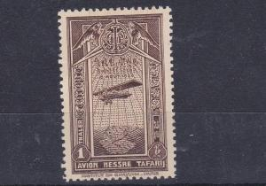 ETHIOPIA  1931  1T   BROWN AIR STAMP  MNH