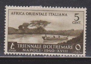 ITALIAN EAST AFRICA Scott # 27 MH