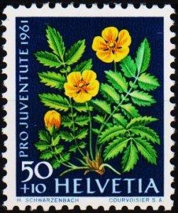 Switzerland. 1961  50c+10c S.G.J191 Unmounted Mint