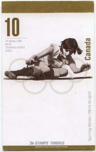 Canada - 1996 Olympic Gold Medalists Booklet #BK192a
