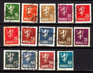 Norway 115-28 used set
