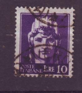 J21607 Jlstamps 1945 italy hv of set used #459 wmk 277