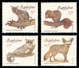 Zimbabwe 1991 Scott #632-635 Mint Never Hinged