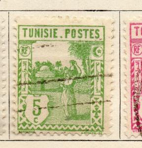 Tunisia 1926-28 Early Issue Fine Used 5c. 252670