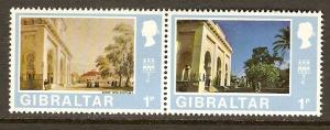 Gibraltar #243a-4a NH Wmk 373