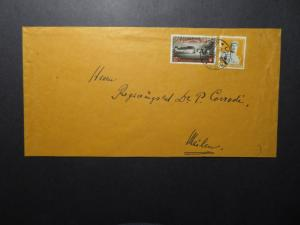 Switzerland 1944 Cover to Germany / Missing Back Flap - Z12248