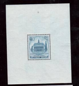 Belgium #B179 Very Fine Never Hinged Souvenir Sheet