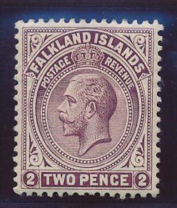 Falkland Islands Stamp Scott #32, Mint Lightly Hinged - Free U.S. Shipping, F...