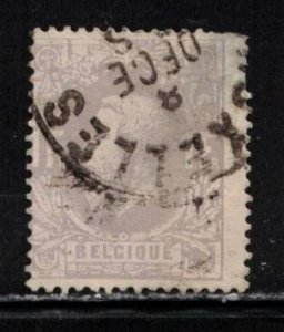 BELGIUM Scott # 36 Used - King Leopold II