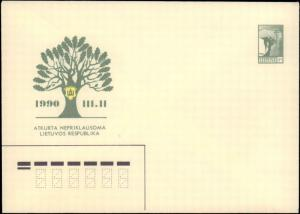 Lithuania, Postal Stationery