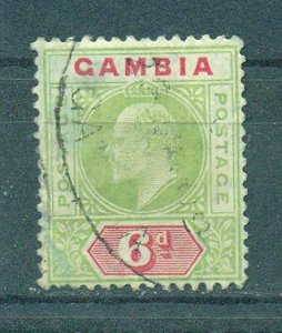 Gambia sc# 52 used cat value $75.00