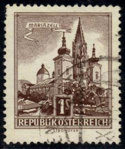 Austria #622 Mariazell; used (0.25)