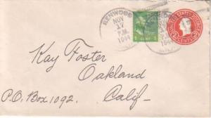 United States, California, Prexies, Postal Stationery