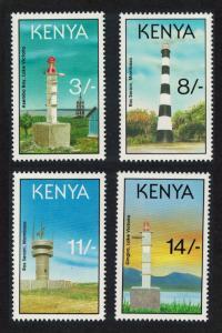 Kenya Lighthouses 4v SG#589-592