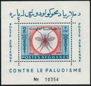 Afghanistan 674Dh,675Ei,MNH.Michel Bl.56-57. WHO drive to eradicate Malaria,1964