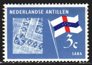 Antilles. 1965. 154 from the series. Lace Clogs, Flag. MNH.