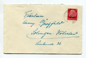 1940 Occupational Issue - Hindenburg Overprint