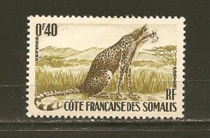 Somali Coast 272 Cheetah Mint Hinged