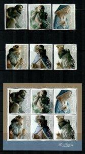 Gibraltar #1109-1114a  MNH  CV $19.00  Stamps + S/S