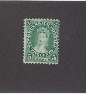 NEW BRUNSWICK # 8 MNG 5cts QUEEN VICTORIA CAT VALUE $35