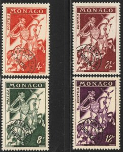 Monaco #321-4 M/NH 45% of SCV $20.00 **FREE SHIPPING**