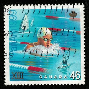 1999, Sport, 46 cents, CANADA (T-7587)