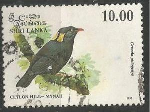 SRI LANKA, 1993, used 10r, Birds Scott 1082