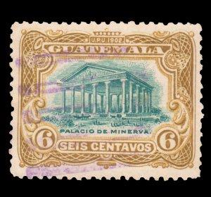 GUATEMALA STAMP 1902 SCOTT # 117. USED. # 5