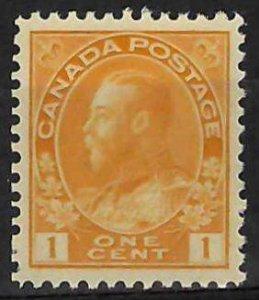 Canada #105d Mint XF NH C$90.00  - Choice Admiral
