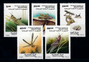 [70768] Mauritania 1988 Insects Grasshopper  MNH