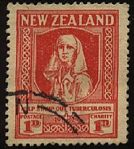 NEW ZEALAND 1929 Health Nurse fine used....................................20521