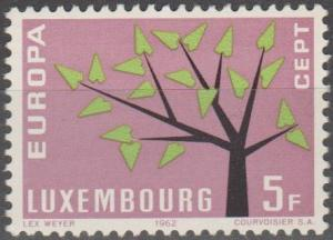 Luxembourg #387  MNH F-VF (ST2238)