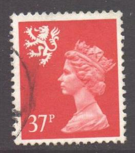 GB Regional Scotland, 1971 Machin 37p used
