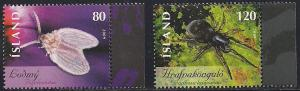 Iceland 1160-1161 MNH - Insects and Spiders