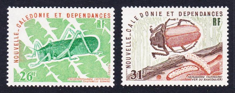 New Caledonia Insects 2v SG#577-578