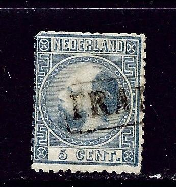 Netherlands 7 Used 1867 issue