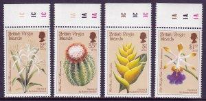 Virgin Islands - Scott #585-588 - MNH - SCV $18