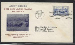 US #789-19 Army Heroes Kapner cachet addressed