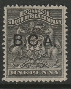 British Central Africa Sc 1 MH