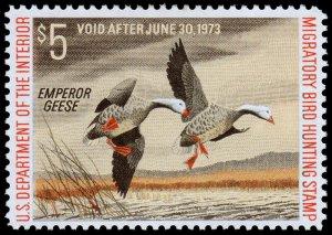 United States Duck Hunting Scott RW39 (1972) Mint LH VF W