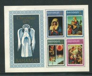 Bahamas MH S/S 355a Christmas 1973