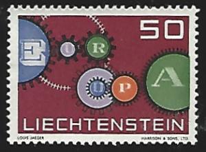 Liechtenstein #368 MNH Single Stamp