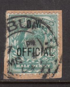 Great Britain #O49 Very Fine Used On Piece