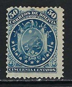 BOLIVIA 17 MOG SIGNED Z2646